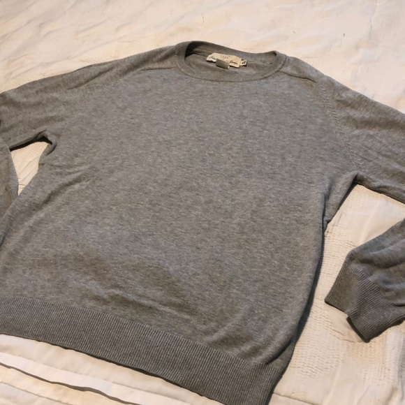 H&M Other - H&M men crew neck grey fall winter essential basic